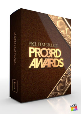 Final Cut Pro X Plugin Pro3rd Awards from Pixel Film Studios
