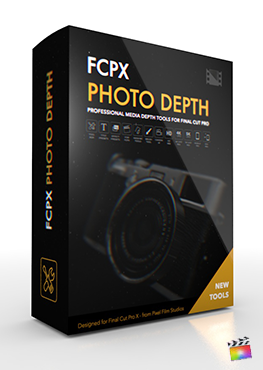 Final Cut Pro X Plugin FCPX Photo Depth from Pixel Film Studios