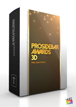 Final Cut Pro X Plugin ProSidebar 3D Awards from Pixel Film Studios
