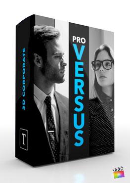 Final Cut Pro X Title ProVersus 3D Corporate from Pixel Film Studios