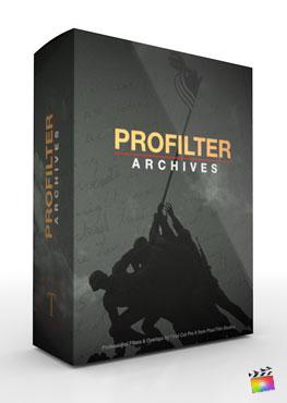 Final Cut Pro X Plugin ProFilter Archives from Pixel Film Studios
