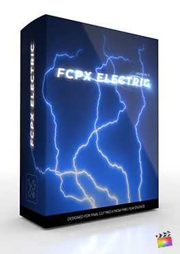 FCPX Electric - Professional Electric Visual Effect Tools