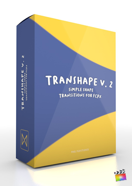 Final Cut Pro X Plugin TranShape Vol. 2 from Pixel Film Studios