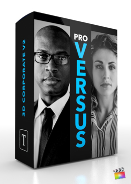 Final Cut Pro X Plugin ProVersus 3D Corporate Volume 2 from Pixel Film Studios