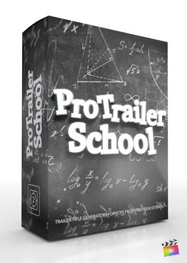 Final Cut Pro X Plugin ProTrailer School from Pixel Film Studios