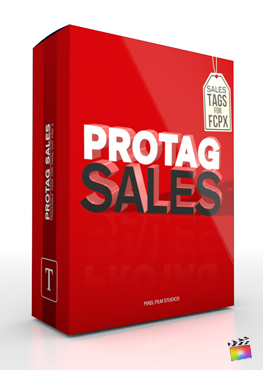 Final Cut Pro X Plugin ProTag Sales from Pixel Film Studios