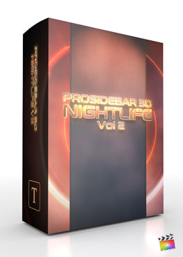 Final Cut Pro X Plugin ProSidebar 3D Nightlife Vol 2 from Pixel Film Studios