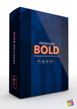 Final Cut Pro X Plugin ProDivide Bold from Pixel Film Studios