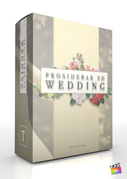 Final Cut Pro X Plugin ProSidebar 3D Wedding from Pixel Film Studios