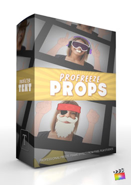 Final Cut Pro X Plugin ProFreeze Props from Pixel Film Studios