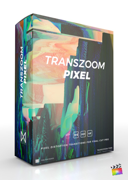 Final Cut Pro X Plugin TransZoom Pixel from Pixel Film Studios