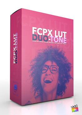 Final Cut Pro X Plugin FCPX LUT Duo Tone