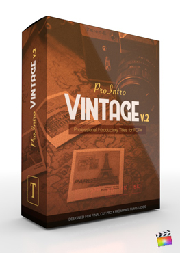 Final Cut Pro X Plugin ProIntro Vintage Volume 2 from Pixel Film Studios