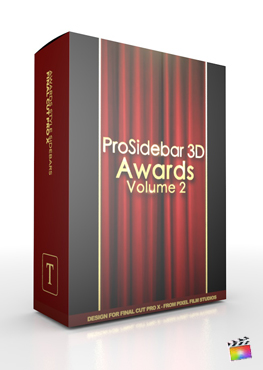 Final Cut Pro X Plugin ProSidebar 3D Awards Volume 2 from Pixel Film Studios