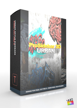 Final Cut Pro X Plugin ProSidebar 3D Urban from Pixel Film Studios