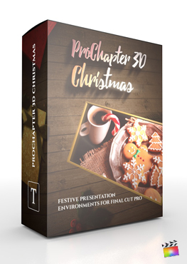 Final Cut Pro X Plugin ProChapter 3D Christmas from Pixel Film Studios