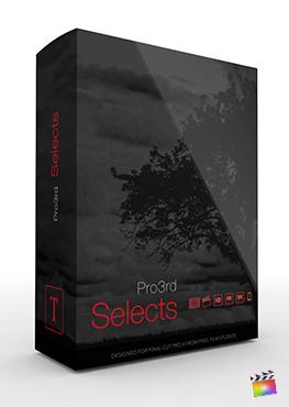Final Cut Pro Plugin - Pro3rd Selects