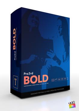 Final Cut Pro Plugin - Pro3rd Bold