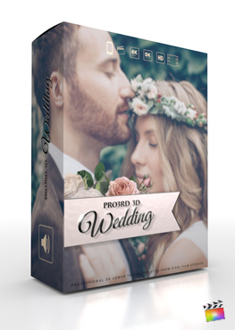 Final Cut Pro Plugin - Pro3rd 3d Wedding from Pixel Film Studios