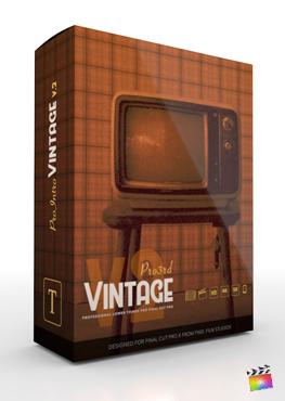Final Cut Pro X Plugin Pro3rd Vintage Volume 2 from Pixel Film Studios