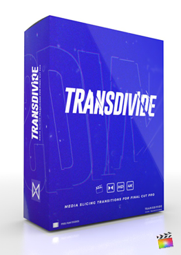 Final Cut Pro X Plugin TransDivide from Pixel Film Studios