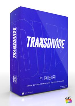 Final Cut Pro X Plugin TransDivide from Pixel Film Studios