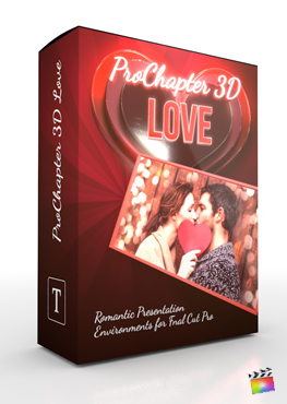 Final Cut Pro X Plugin ProChapter 3D Love from Pixel Film Studios
