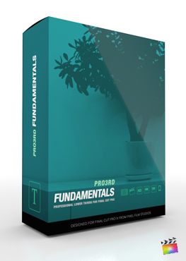 Final Cut Pro Plugin - Pro3rd Fundamentals