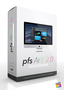 Final Cut Pro X Plugin PFS App from Pixel Film Studios