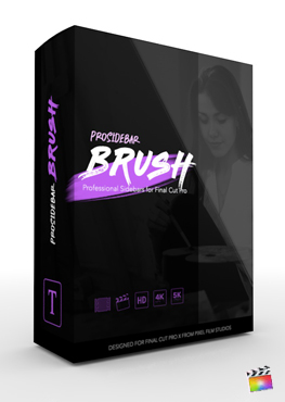 Final Cut Pro Plugin - ProSidebar Brush from Pixel Film Studios