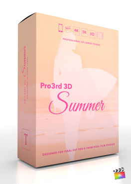 Final Cut Pro Plugin - Pro3rd 3D Gallery From Pixel Film Studios