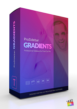 ProSidebar Gradients - Professional Sidebars for Final Cut Pro - Pixel Film Studios