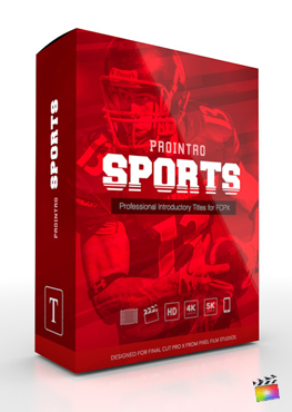 Final Cut Pro X Plugin ProIntro Sports from Pixel Film Studios