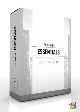 Final Cut Pro X Plugin ProDivide Essentials from Pixel Film Studios