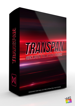 Final Cut Pro X Plugin TransPan from Pixel Film Studios