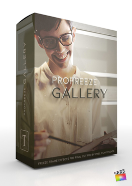 Final Cut Pro X Plugin ProFreeze Gallery from Pixel Film Studios