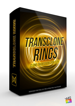Final Cut Pro X Plugin TransClone Rings from Pixel Film Studios