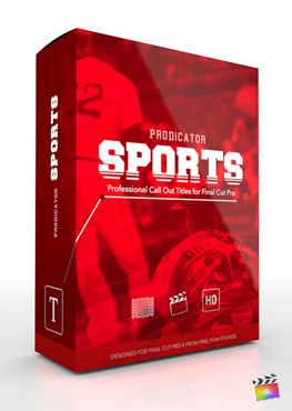 Final Cut Pro X Plugin ProDicator Sports from Pixel Film Studios