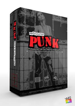 ProDicator Punk - Professional Call Out Titles for Final Cut Pro - Pixel Film Studios