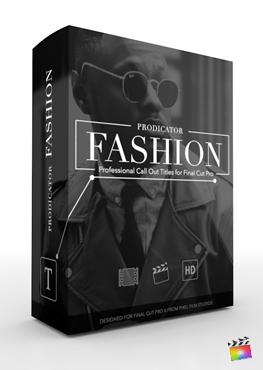 Final Cut Pro X Plugin ProDicator Fashion Volume 2 from Pixel Film Studios