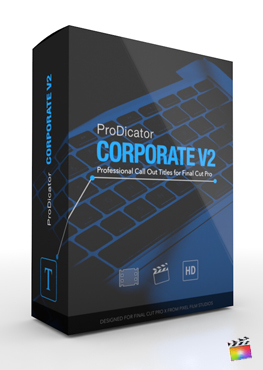 Final Cut Pro X Plugin ProDicator Corporate Volume 2 from Pixel Film Studios