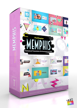 Final Cut Pro X Plugin ProChapter Memphis from Pixel Film Studios