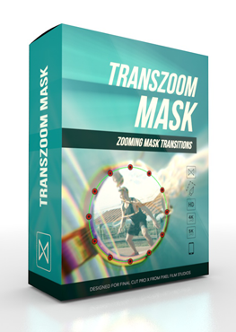 Final Cut Pro X Plugin TransZoom Mask from Pixel Film Studios