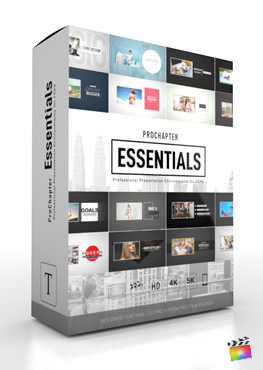 Final Cut Pro X Plugin ProChapter Essentials from Pixel Film Studios