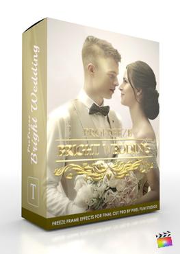 Final Cut Pro X Plugin ProFreeze Bright Wedding from Pixel Film Studios