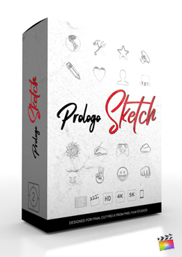 Final Cut Pro Plugin - ProLogo Sketch - Pixel Film Studios