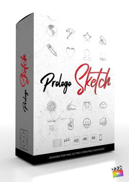 Final Cut Pro Plugin - ProLogo Sketch - Pixel Film Studios