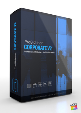 Final Cut Pro Plugin - ProSidebar Coroprate Volume 2 from Pixel Film Studios