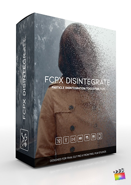 Final Cut Pro X Plugin FCPX Disintegrate from Pixel Film Studios