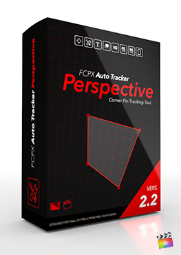 Final Cut Pro X Plugin FCPX Auto Tracker Perspective 2.2 from Pixel Film Studios